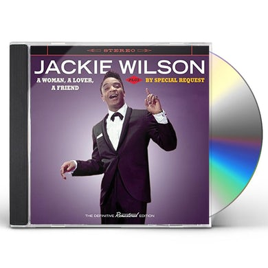 Jackie Wilson WOMAN A LOVER A FRIEND + BY SPECIAL REQUEST CD