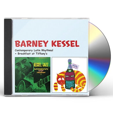 Barney Kessel CONTEMPORARY LATIN RHYTHMS CD