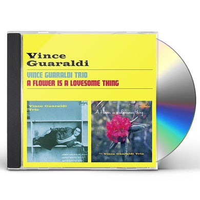 VINCE GUARALDI TRIO + A FLOWER IS A LOVESOME THING CD
