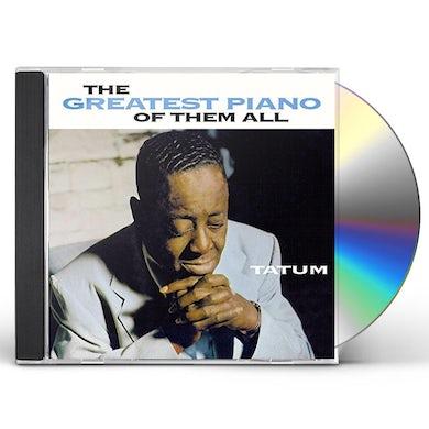 Art Tatum GREATEST PIANO OF THEM ALL CD