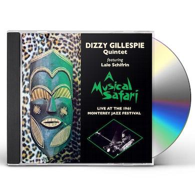 Dizzy Gillespie MUSICAL SAFARI LIVE AT MONTEREY CD