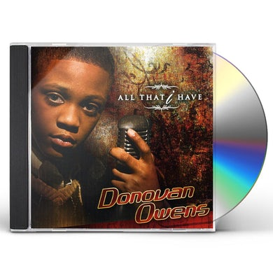 Donovan Owens ALL THAT I HAVE CD