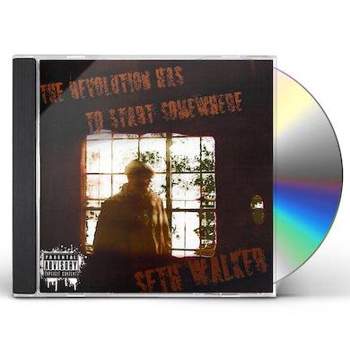 Seth Walker REVOLUTION HAS TO START SOMEWHERE CD