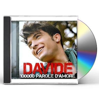 Davide 100000 PAROLE D'AMORE CD