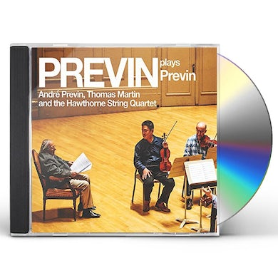 Andre Previn PREVIN PLAYS PREVIN CD