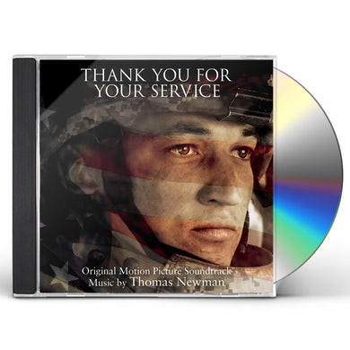 Thomas Newman THANK YOU FOR YOUR SERVICE / Original Soundtrack CD