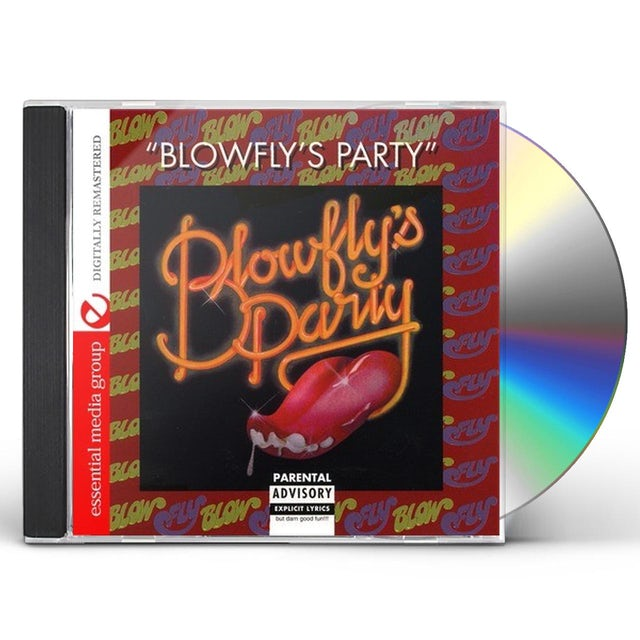 BLOWFLY'S PARTY CD