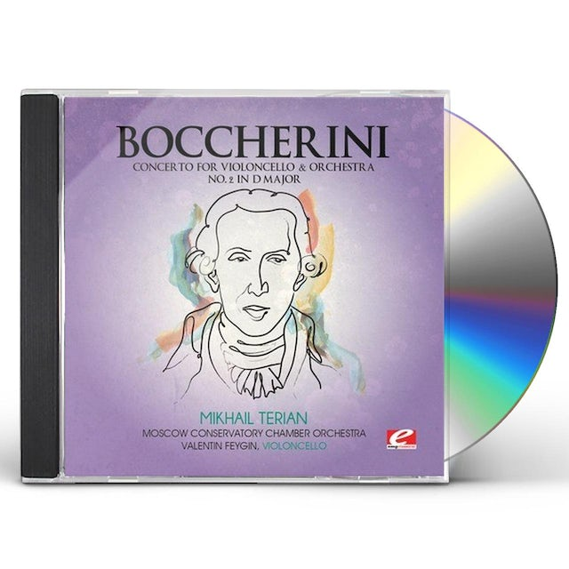 Boccherini CONCERTO FOR VIOLONCELLO ORCHESTRA 2 CD