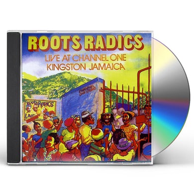 Roots Radics LIVE AT CHANNEL ONE CD