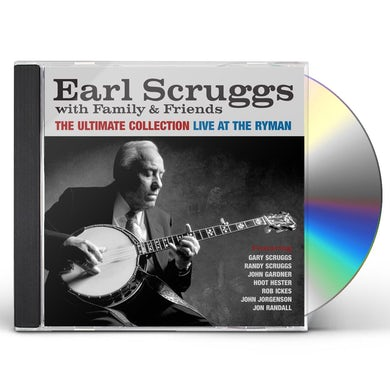 Earl Scruggs ULTIMATE COLLECTION: LIVE AT THE RYMAN CD