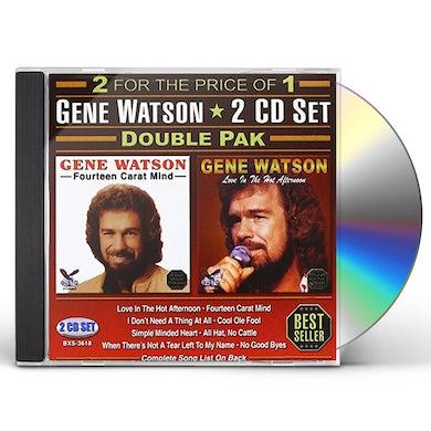 Gene Watson DOUBLE PAK CD