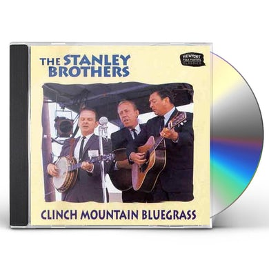 Stanley Brothers CLINCH MOUNTAIN BLUEGRASS CD