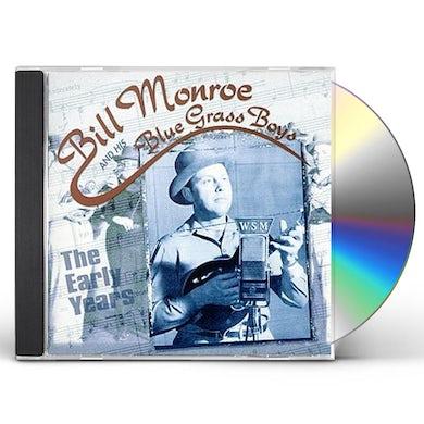 Bill Monroe EARLY YEARS CD