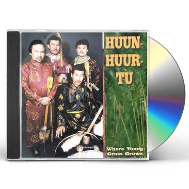 Huun-Huur-Tu WHERE YOUNG GRASS GROWS CD