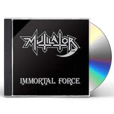MUTILATOR IMMORTAL FORCE CD