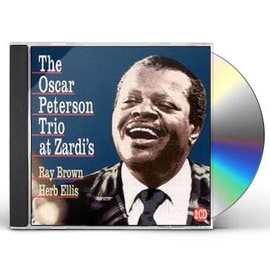 Oscar Peterson LIVE AT ZARDI'S CD