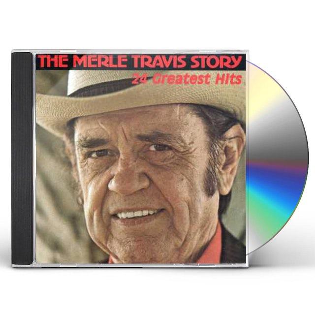 Merle Travis STORY CD