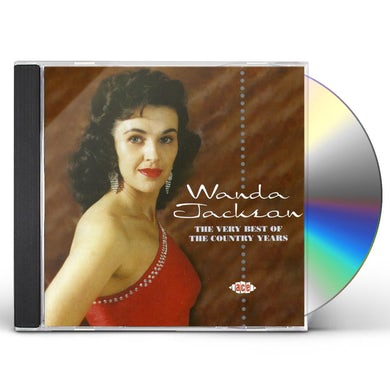 Wanda Jackson VERY BEST OF THE COUNTRY YEARS CD