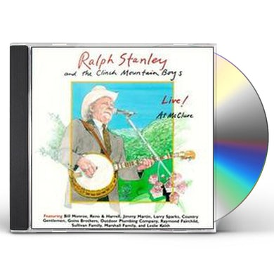 Ralph Stanley LIVE AT MCCLURE CD