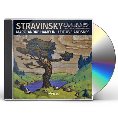 Marc-Andre Hamelin Stravinsky: The Rite Of Spring & Other Works For Two Pianos Four Hands CD