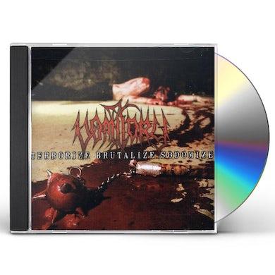 Vomitory TERRORIZE BRUTALIZE SODOMIZE CD