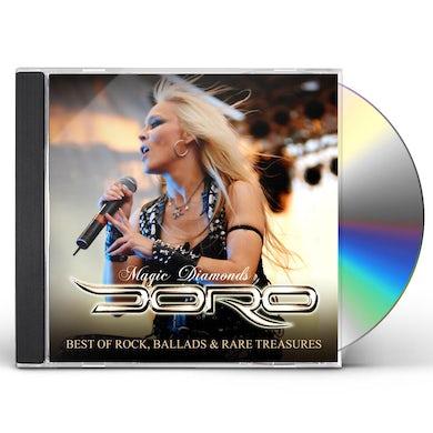 Doro Magic Diamonds   Best Of Rock Ballads & CD