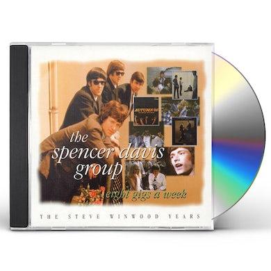 Spencer Group Davis EIGHT GIGS A WEEK: STEVE WINWOOD YEARS CD