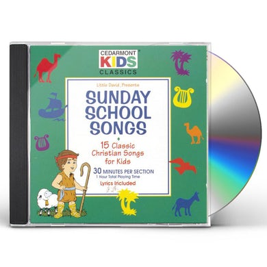 Cedarmont Kids CLASSICS: SUNDAY SCHOOL SONGS CD