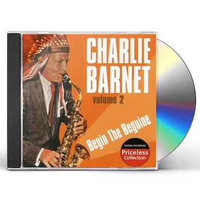 Charlie Barnet BEGIN THE BEGUINE 2 CD