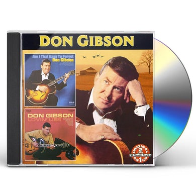 Don Gibson AM I THAT EASY TO FORGET: LOVIN LIES CD