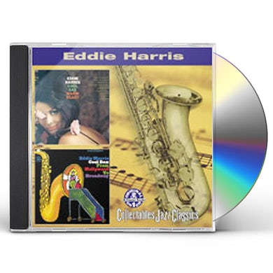 Eddie Harris COOL SAX WARM HEART / COOL SAX FROM HOLLYWOOD TO CD