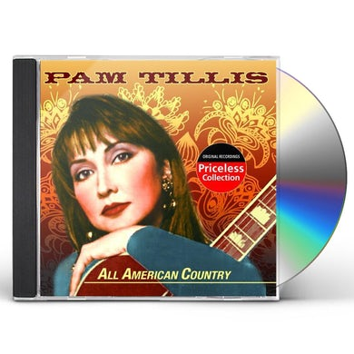 Pam Tillis ALL AMERICAN COUNTRY CD
