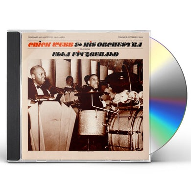 Chick Webb ORCHESTRA FEATURING ELLA FITZGERALD CD