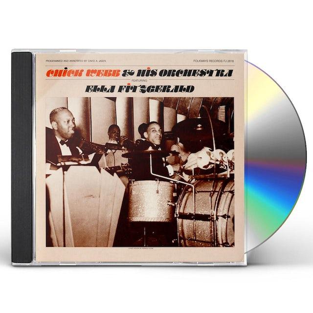 Chick Webb ORCHESTRA FEATURING ELLA FITZGERALD CD