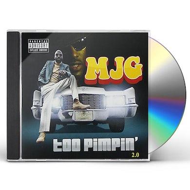 MJG TOO PIMPIN 2 0 CD