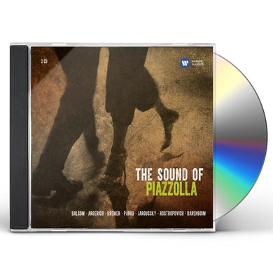 Astor Piazzolla SOUND OF PIAZZOLLA CD