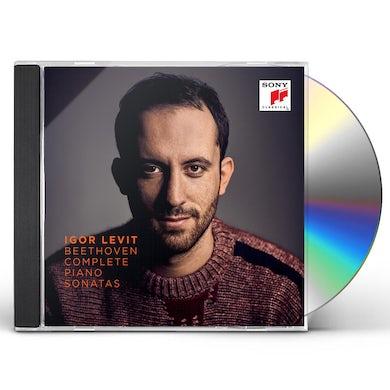 Igor Levit BEETHOVEN: THE COMPLETE PIANO SONATAS CD