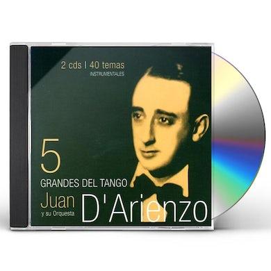 Juan d'Arienzo GRANDES DEL TANGO 5 CD