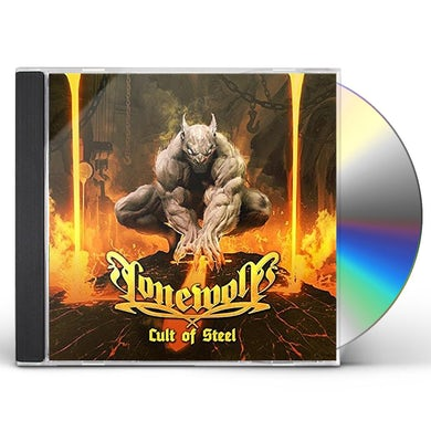 Lonewolf CULT OF STEEL CD