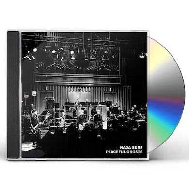 Nada Surf PEACEFUL GHOSTS: LIVE WITH DEUTSCHES FILMORCHESTER CD