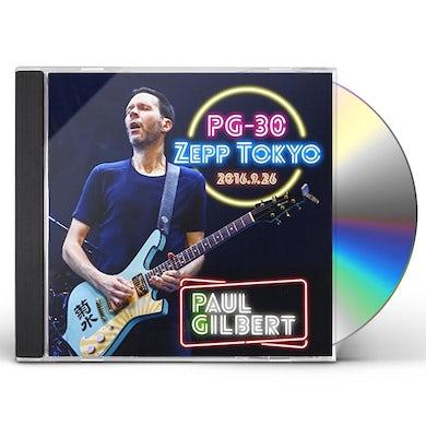 Paul Gilbert PG-30 LIVE AT ZEPP TOKYO 2016 CD