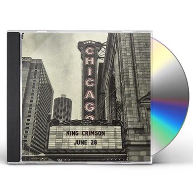 King Crimson LIVE IN CHICAGO (HQCD) CD