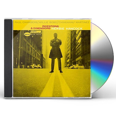 Herbie Hancock INVENTIONS & DIMENSIONS CD
