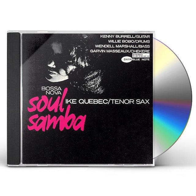 Ike Quebec BOSSA NOVA SOUL SAMBA CD