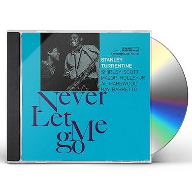 Stanley Turrentine NEVER LET ME GO CD