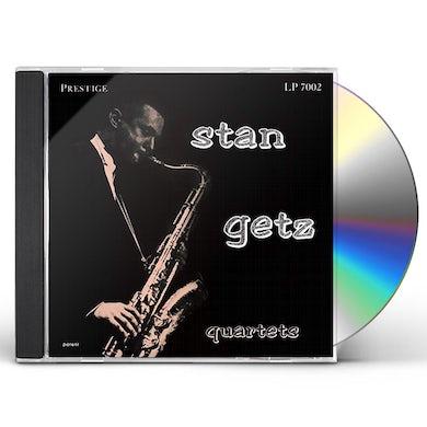 STAN GETZ QUARTETS CD