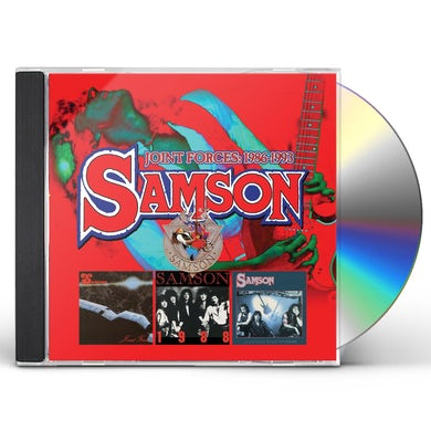 Samson JOINT FORCES 1986-1993: EXPANDED EDITION CD