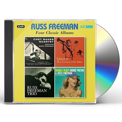 4 LPS - QUARTET FEATURING RUSS FREEMAN / QUARTET CD