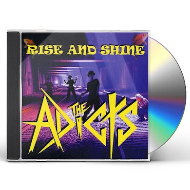 The Adicts RISE & SHINE CD