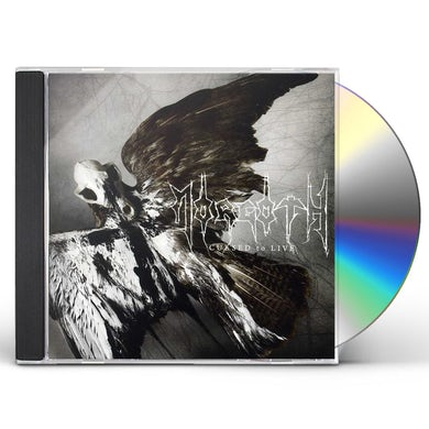 MORGOTH CURSED TO LIVE CD